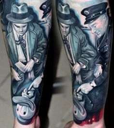 Tattoo Artist - Csaba Mullner - Movies tattoo