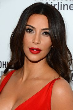 Kim Kardashian | Proof That Bangs Can Totally Change Your Face