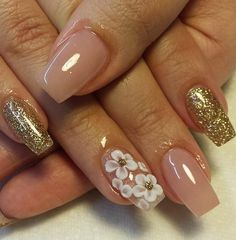 We've assembled some of the best nail art designs. You'll want to check them all out. Cute Acrylic Nails, 3d Nails, Acrylic Nail Designs, Love Nails, Nail Art Designs, Palm Tree Nails, Rhinestone Nails, Square Nails, Gorgeous Nails