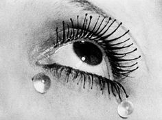 Artwork by Man Ray, Les Larmes [Glass Tears], Made of Gelatin silver print Georges Braque, Marcel Duchamp, Man Ray Photography, Modern Photography, Product Photography, Horst Janssen, Surrealist Photographers, Tears Art, Guggenheim Bilbao