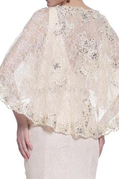 17-20263 PRIMA Lace BOHO Cape Wedding or Mother of Bride Dress PLUS SIZES