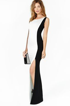 Nasty Gal Double Life Maxi Dress in Clothes at Nasty Gal