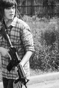 That's a really good picture. You are amazing Chandler Riggs!!!