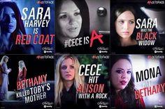 Pretty Little Liars Summer Finale - Cece is A.
