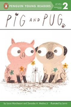 Pig lives on a farm where he is the only animal without a friend until a new creature arrives, Pug, who is not a pig but has a curly tail, snorts, plays in the mud, and just might be a good friend for Pig.