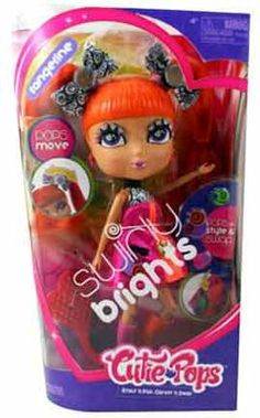 Cutie Pops Swirly Brights Tangerine by Jada Toys, Inc.. $27.99. 1 Doll 1 Brush 8 Style Pops