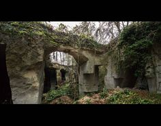 Secret WW1 hospital for wounded soldiers, in northern France