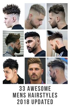 Check out the most up-to date on trend Mens Hairstyle Gallery 2018 . Created by the Worlds Best Barbers