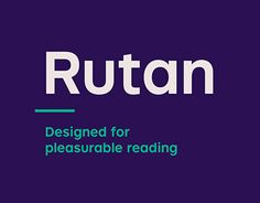 "Check out this @Behance project: ""Rutan - Type Family"" https://www.behance.net/gallery/30008107/Rutan-Type-Family"