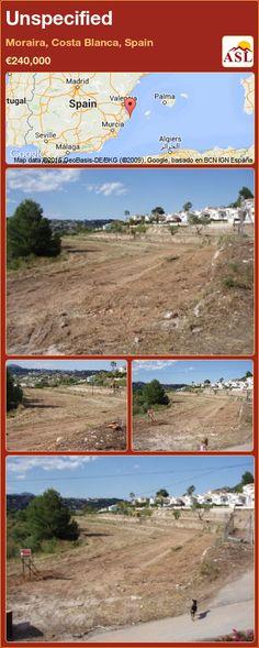 Unspecified in Moraira, Costa Blanca, Spain ►€240,000 #PropertyForSaleInSpain