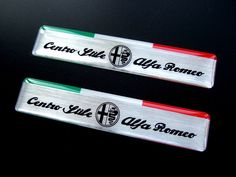 2 x alfa #romeo centro stile italia  #badges #exterior giulietta mito 147 brera e,  View more on the LINK: 	http://www.zeppy.io/product/gb/2/162384469296/