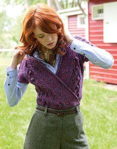 WICKELJACKE Classic Tweed von Lana Grossa