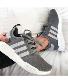 a4ac8b71ac1218 Adidas NMD R1 In Grey White Sale UK Adidas Grey Shoes