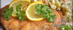 Recept Smažená krkovička a bramborový salátek 20 Min, Tacos, Mexican, Chicken, Ethnic Recipes, Food, Essen, Meals, Yemek