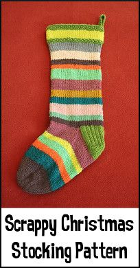 The Knitting Maniac: Free Christmas Stocking Knitting Pattern