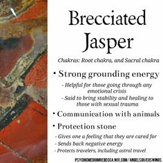 Brecciated Jasper crystal meaning