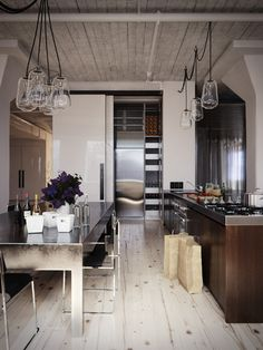 Best Déco Industrielle Images On Pinterest In Home Decor - Cuisine deco industrielle