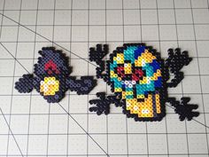 Pokemon Bead Sprite Set  Yamask Family by ToughTurtles on Etsy, $5.50