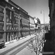 Štefánikova 1947 Bratislava, Php, Nostalgia, Street View, Country, Places, Times, Beautiful, Pictures