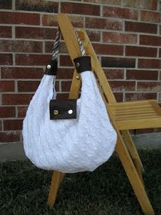 Recycled Sweater Purse!