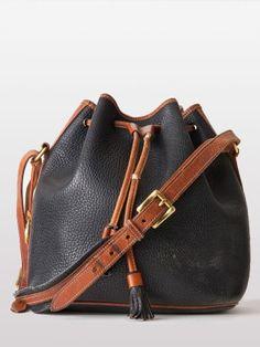 Vintage Dooney & Bourke Medium Bucket Bag
