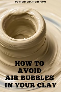 11 Problems Centering Clay and Easy Ways to Fix Them - Pottery Crafters - - The problem for every new potter is Centering. From personal experience I have identified 11 Problems Centering clay and 11 Proven Ways to Fix Them. Pottery Kiln, Pottery Tools, Pottery Classes, Ceramic Pottery, Ceramic Techniques, Pottery Techniques, Clay Center, Pottery Videos, Wheel Thrown Pottery
