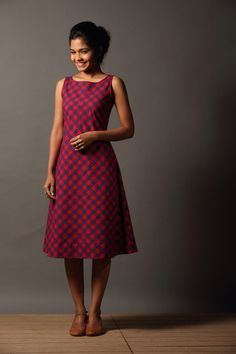 Kavaya Thuni Dress - Red