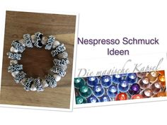 Upcycled Nespresso Cups Made Into Jewelry