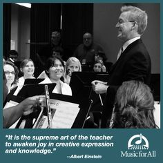A thank you to music educators... and to all our teachers! Click to read a special blog post from Music for All