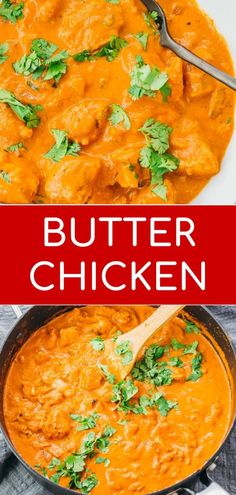 An easy and low carb recipe for authentic Indian butter chicken, with tender chicken cooked in a simple, creamy curry sauce. Great for healthy diets, keto, and gluten free. Serve with quick sides like Side Dish Recipes, Low Carb Recipes, Dinner Recipes, Cooking Recipes, Healthy Recipes, Brunch Recipes, Dessert Recipes, Butter Chicken Sauce, Indian Butter Chicken