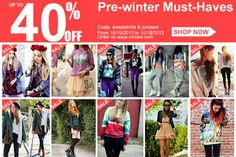 Pinkbelezura: Romwe Pre-winter Must-Haves