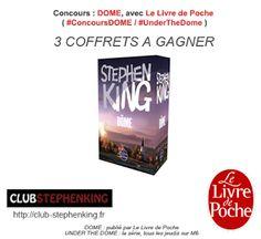 Le Bouquinovore: Concours : DOME, avec Le Livre de Poche et le club Stephen King