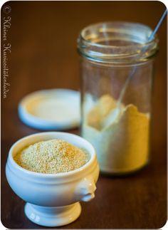 Gemüsebrühepulver hausgemacht - ohne Salz - Brauche wohl doch einen Entsafter! :)