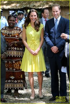 Prince William & Duchess Kate: Tavanipupu Island Visit