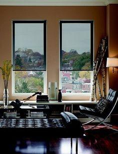 1000 ideas about modern window treatments on pinterest - Interior vs exterior solar screens ...