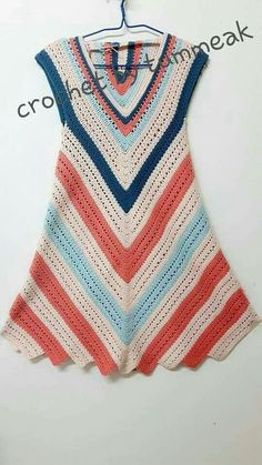 Crochet Jacket, Crochet Cardigan, Crochet Bikini, Knit Crochet, Crochet Summer Dresses, Diy Crafts Crochet, Crochet Woman, Diy Dress, Crochet Fashion