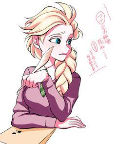Elsa Frozen || Link source : http://www.pixiv.net/member_illust.php?mode=medium&illust_id=44167760