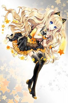 SeeU is one of my top favorite Vocaloid. So it's goes: my fifth favorite is stardust, fourth favorite is Iroha third is Xin Hua, second is Mayu, and First is SeeU! Anime Neko, Manga Anime, Manga Kawaii, Art Manga, Kawaii Anime Girl, Anime Art Girl, Manga Girl, Anime Girls, Hatsune Miku