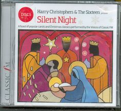 SILENT NIGHT: THE SIXTEEN /HARRY CHRISTOPHERS - CAROLS & CHRISTMAS CLASSICS #ClassicalChristmas Christmas Cds, Christmas Classics, Silent Night, Presents, Ebay, Gifts, Favors