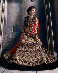 Beige Soft Net Wedding Lehenga Choli 63114
