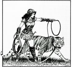 The brief adventures of Aleena the cleric (Larry Elmore