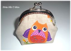 Porta moedas Mochos/ Owls coin purse  http://www.facebook.com/soniaarteemaos