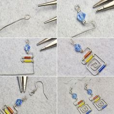 Like the wire wrapped dangle earrings?The tutorial will be shared by LC.Pandahall.com soon.