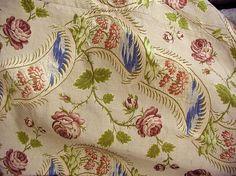 Robe à la Française (image 6)   French   1750-75   silk   Metropolitan Museum of Art   Accession Number: C.I.60.40.1a, b