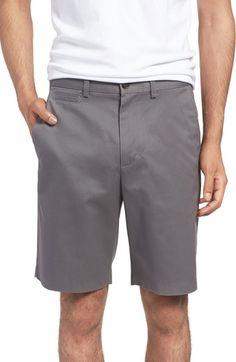 Main Image - Nordstrom Men's Shop Smartcare™ Flat Front Shorts