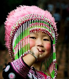 Hill Tribe Girl - Thailand
