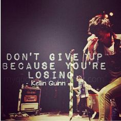 You haven't lost ♥♥ im in love with that song lyric quote