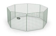 The new Zippi Guinea Pig Playpen from Omlet provides a movable exercise solution for your guinea pigs while allowing you to spend more quality time with your pe. Guinea Pig Run, Guinea Pig Hutch, Rabbit Tunnel, Rabbit Run, Indoor Rabbit Cage, Rabbit Cages, Rabbit Playpen, Rabbit Habitat, Rabbit Enclosure