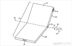 #iladies Apple patents foldable iPhone with flexible display that can clip onto clothing #applenews