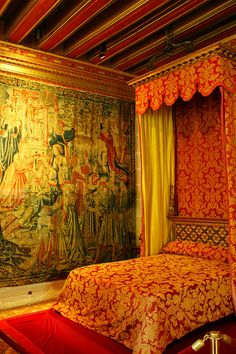 Chateau de Chenoceau wall tapestry